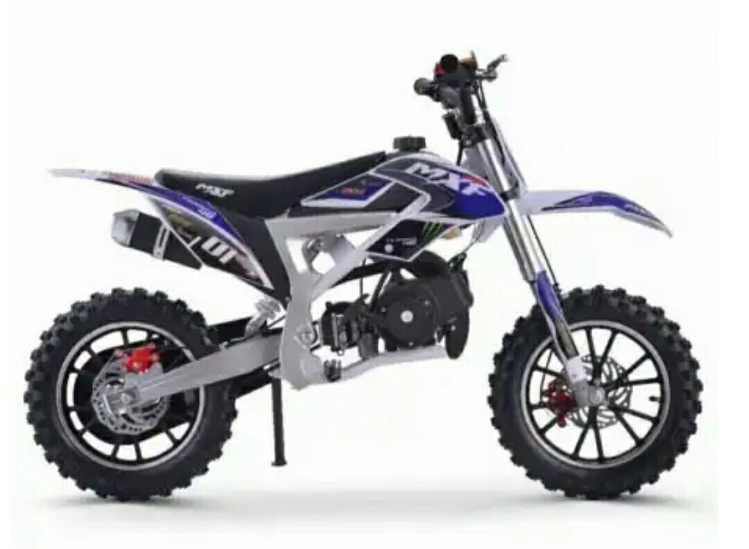 Japa Mini Motos Mini Moto Cross Ferinha 49cc 2t Azul